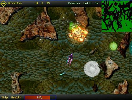 Membrane Massacre Game screenshot