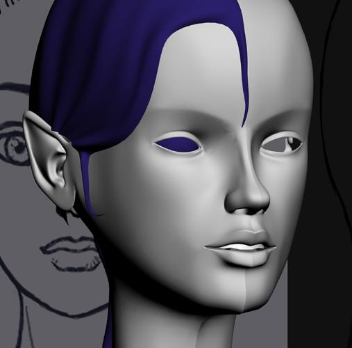 Night Elf Female WIP